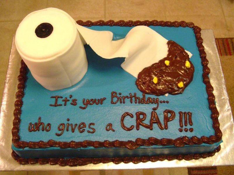 Crap Birthday Cake