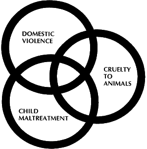 The link between family violence and animal cruelty