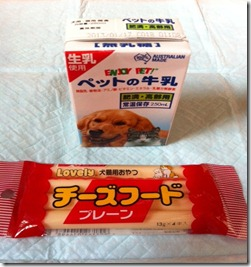 milk and cheese treats from Japan