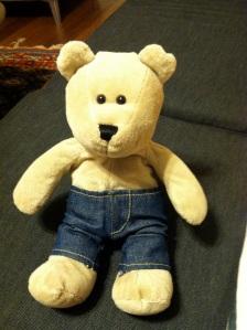 Mr. Bear's best friend Rocky