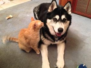 He tells me secrets!