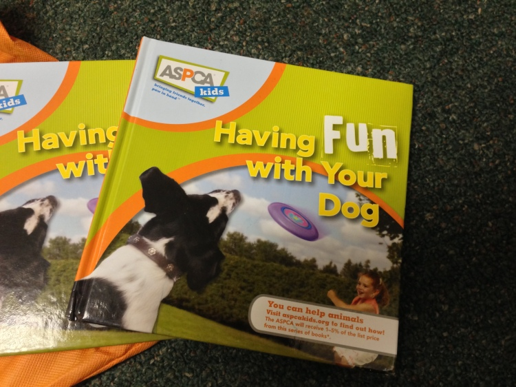 This book talks to kids about caring for their dog