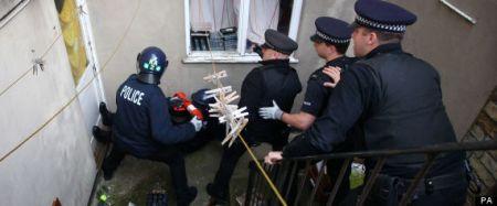 Police raids in Kent