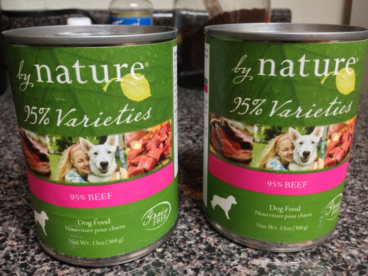 by nature grain-free food for dogs.