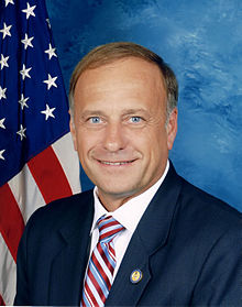 Rep Steve King of Iowa (photo from wikipedia)
