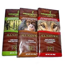 Of course a post about animal welfare has to promote Endangered Species Chocolate