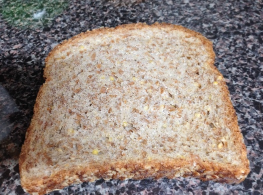 Look- you can see the grains in this slice!
