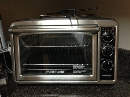 Nope, no elephants will fit in my toaster oven either.