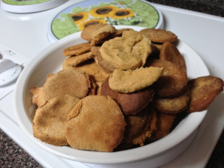 Jen's cookies aren't pretty, but they sure do taste good!