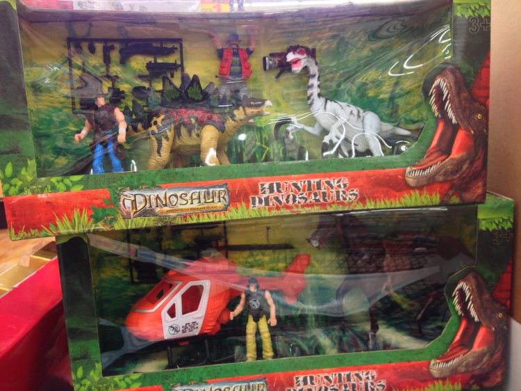 Hunting Dinosaurs? What the heck is THIS?