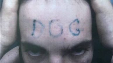OK, so this dog is just starting out- but at least he spelled it right!