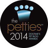 Don't forget to vote for us today and every day for Best Cause Blog in the DogTime Petties Awards.
