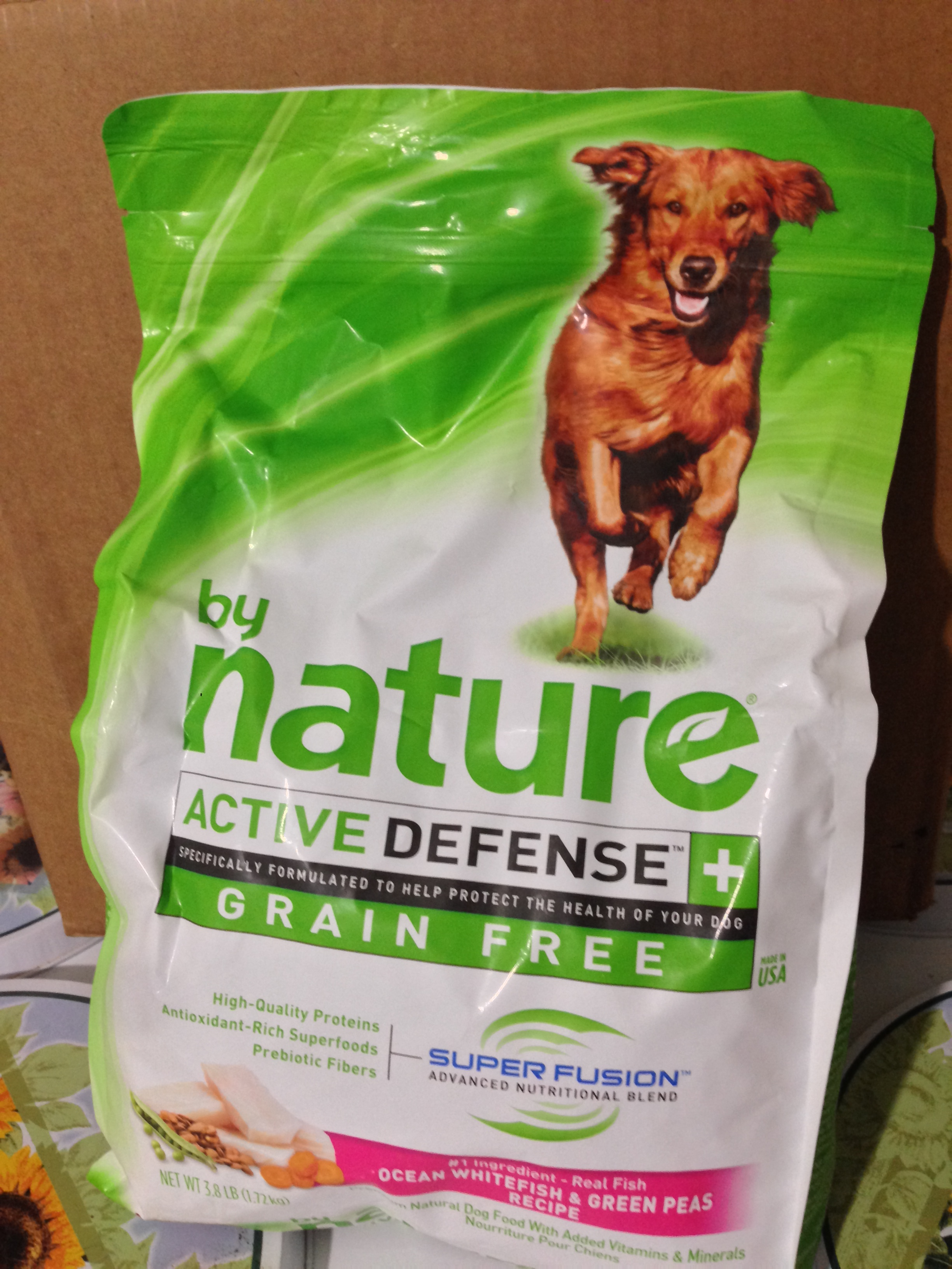 By Nature Active Defense Grain Free Dog Food Ingredients