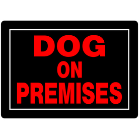 dog on premises