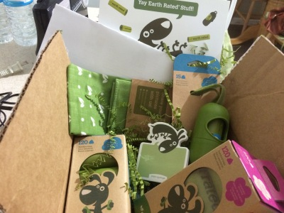 Earth Rated sent us this box of poopy goodies!