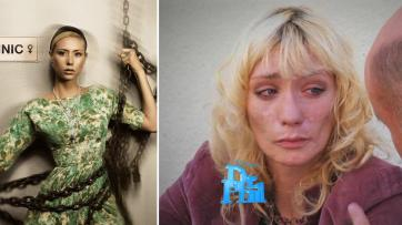Jael Strauss- from America's Top Model contestant to meth addict.