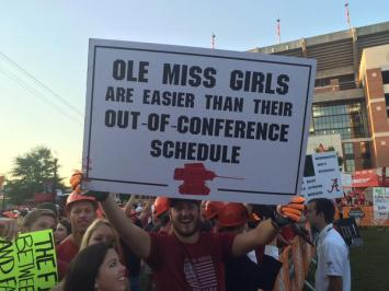 Looks like beating Bama was also easy, eh dude?