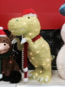 Or perhaps we can discuss the relevance of dinosaurs in the story of the Nativity.