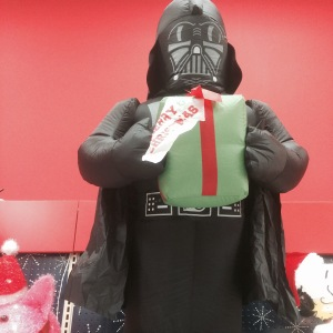 Beware of relatives bearing gifts from The Dark Side.