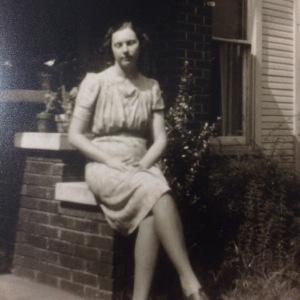 My Granny at age 18. She was already a working woman at that age.