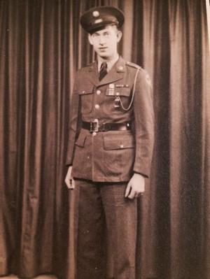Yep, there he is- my favorite WW2 vet.