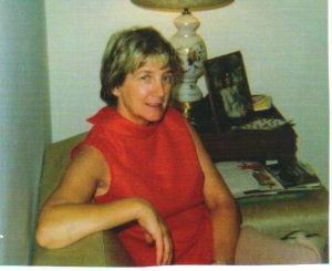 My great-aunt Ruth. May she rest in peace.